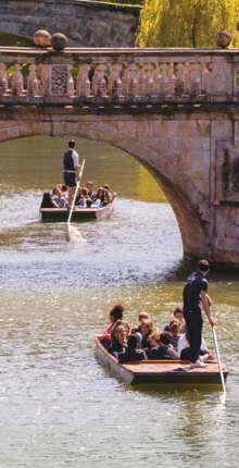 Award-Winning Traditional Punting in Cambridge