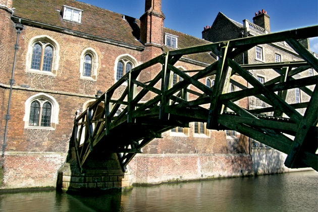 Queens' College Mathematical Bridge, Cambridge